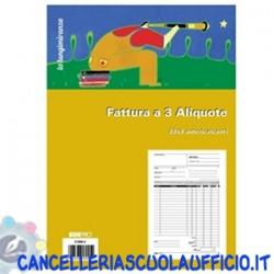 Blocco Fattura 3 aliquote Edipro