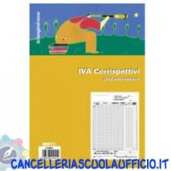 Registro prima nota IVA corrispettivi 25x2 Edipro
