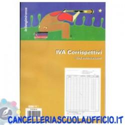 Registro prima nota IVA corrispettivi 13x2 Edipro