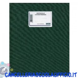 Registro protocollo corrispondenza 21x31 Data Ufficio 300ff
