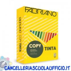Carta Fabriano copy tinta A4 giallo 80 gr