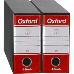 Registratori Oxford G81 d.so 8 h.18 Rosso