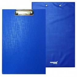 Porta blocco con molla Memotak 1 anta Blu