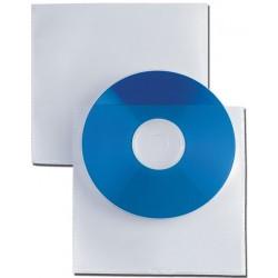 Buste per Cd in plastica con adesivo 25 pz.