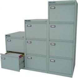 Classificatore metallo Grigio 4 cassetti