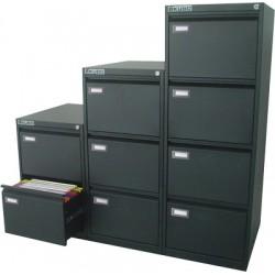 Classificatore metallo Nero 4 cassetti