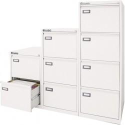 Classificatore metallo Bianco 4 cassetti