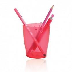 Bicchieri Porta penne Exacompta Trasp. Lampone