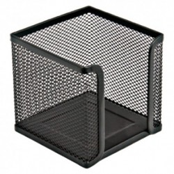 Porta Foglietti metallo nero 16NIK027