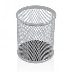 Bicchieri Porta matite metallo cm. 8 Silver