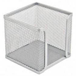 Porta Foglietti metallo silver 16NIK028