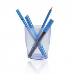 Bicchieri Porta penne Exacompta Trasp. Blu