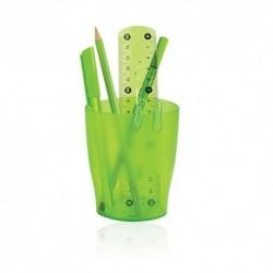 Bicchieri Porta penne Exacompta Trasp. Verde