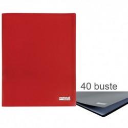 Porta Listini Memotak Basic 40 buste Rosso