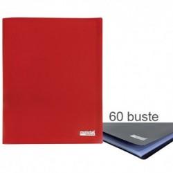 Porta Listini Memotak Basic 60 buste Rosso