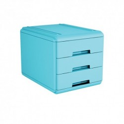 Cassettiera Arda Smile Mini Azzurro