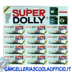 Colla Super Dolly 3 ml. 12 pz.