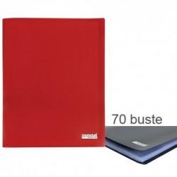 Porta Listini Memotak Basic 70 buste Rosso