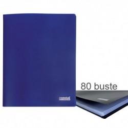 Porta Listini Memotak Basic 80 buste Blu