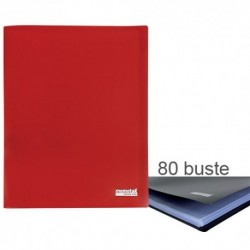 Porta Listini Memotak Basic 80 buste Rosso