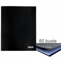Porta Listini Memotak Basic 80 buste Nero