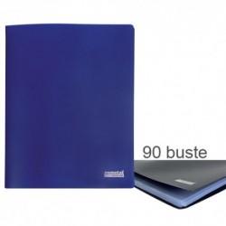 Porta Listini Memotak Basic 90 buste Blu