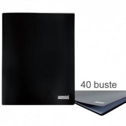 Porta Listini Memotak Basic 40 buste Nero