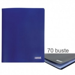 Porta Listini Memotak Basic 70 buste Blu