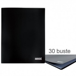 Porta Listini Memotak Basic 30 buste Nero