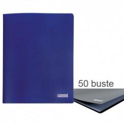 Porta Listini Memotak Basic 50 buste Blu