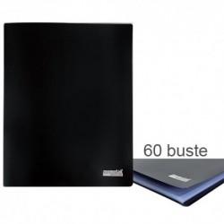 Porta Listini Memotak Basic 60 buste Nero