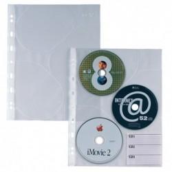 Buste 4 fori Sei per Cd Atla CD 3 10 pz.