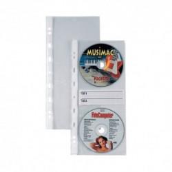 Buste 4 fori Sei per Cd Atla CD 2 10 pz.