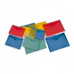 Buste con bottone 14x10 Ass. 5 pz.