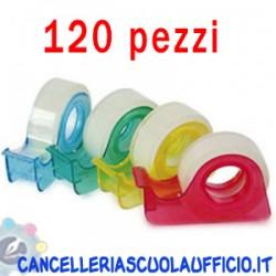 Nastro adesivo trasparente con chiocciola colorata