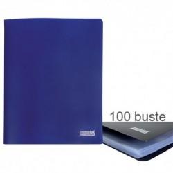Porta Listini Memotak Basic 100 buste Blu