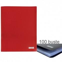 Porta Listini Memotak Basic 100 buste Rosso
