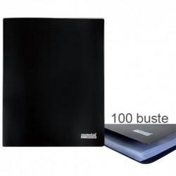 Porta Listini Memotak Basic 100 buste Nero