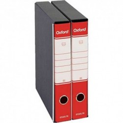 Registratori Oxford G84 d.so 5 Rosso