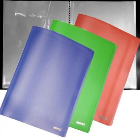 Porta Listini Memotak Basic 40 buste Blu
