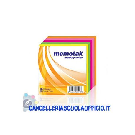 Cubi multicolore Memotak 75x75