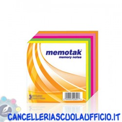 Cubi multicolore Memotak 50x50