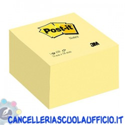 Foglietti Post it Giallo Canary 76x76