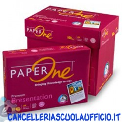 Carta PaperOne Rossa A4 80 gr