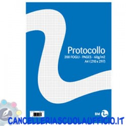 Carta protocollo 5 MM